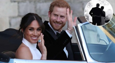 Fotoja që kemi humbur nga dasma mbretërore duket sikur është shkëputur nga ndonjë përrallë