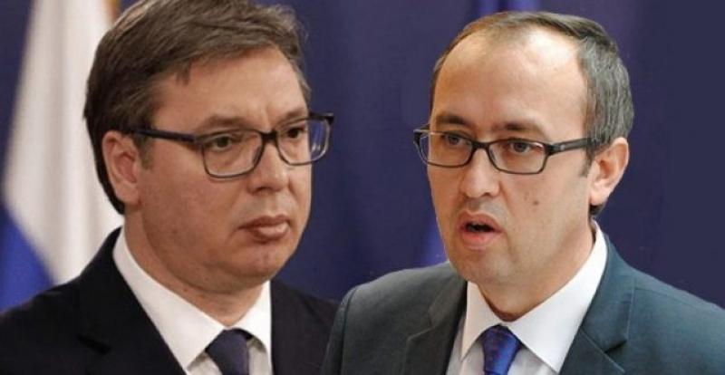 Dialogu Kosovë-Serbi/ Vuçiç dhe Hoti 'takohen' ditën e sotme në distance