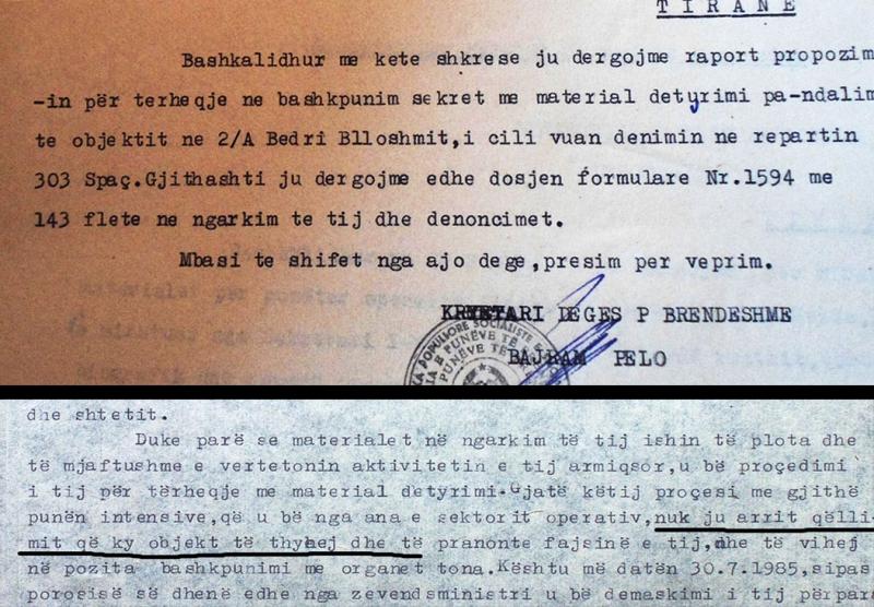 Dështimi i rekrutimit dhe demaskimi në kampin e Spaçit