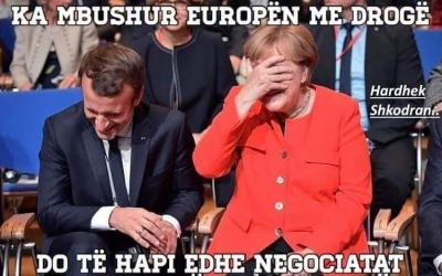 Merkel dhe Makron