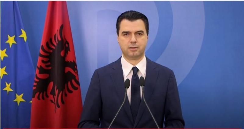Pas rikonfirmimit në krye të PD, Basha: Nga sot energjitë dhe përpjekjet tona do të shkojnë drejt kundërshtarit tonë të vetëm, Ramës