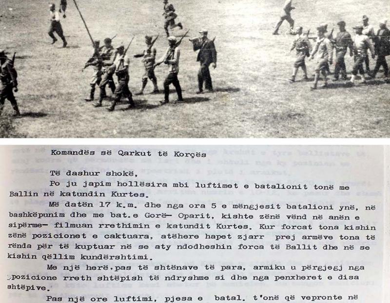 1943/Djegiet dhe vrasjet në fshatit Kurtes të Kolonjës