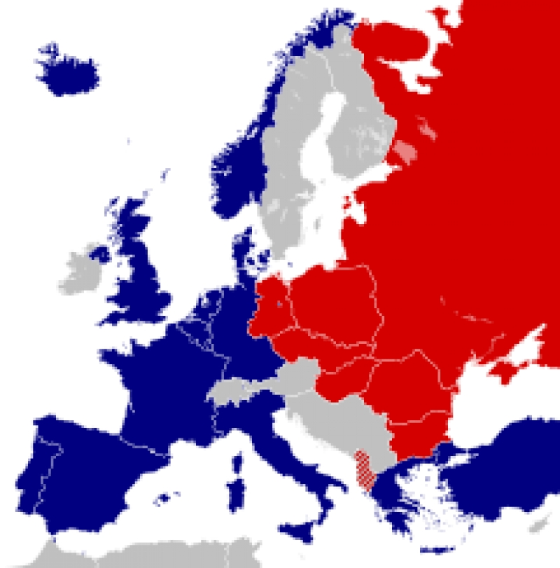 Shtrirja e NATO-s në Europë shumë vite para rënies së komunizimit