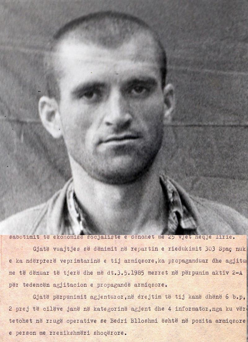 1985/Përpjekja për rekrutim gjatë burgimit dhe qëndresa para presioneve