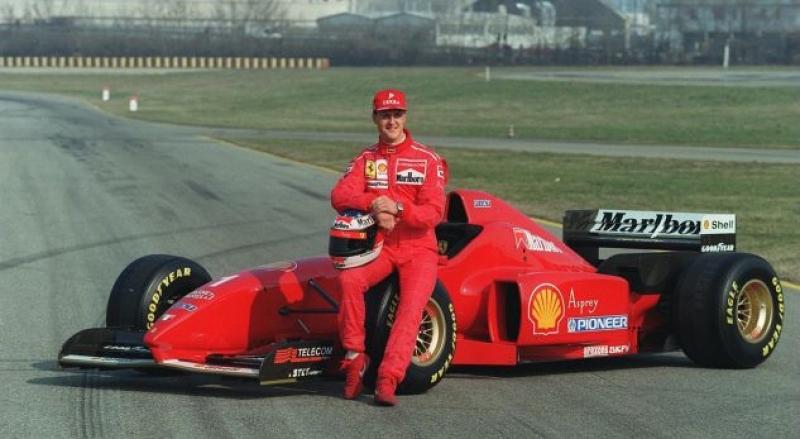 Ferrari e nderon Michael Schumacherin