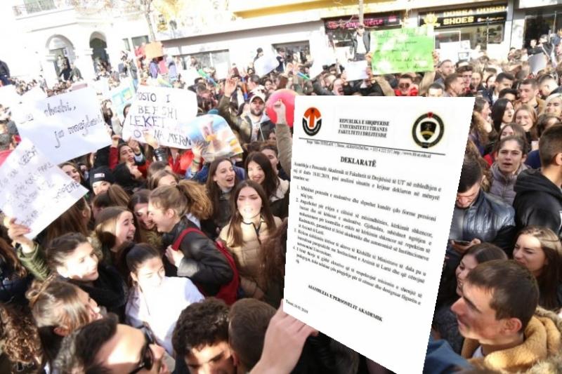 Pedagogët e Juridikut me studentët, kërkojnë rishikimin e VKM-ve të Ramës që cënojnë autonominë në Universitete