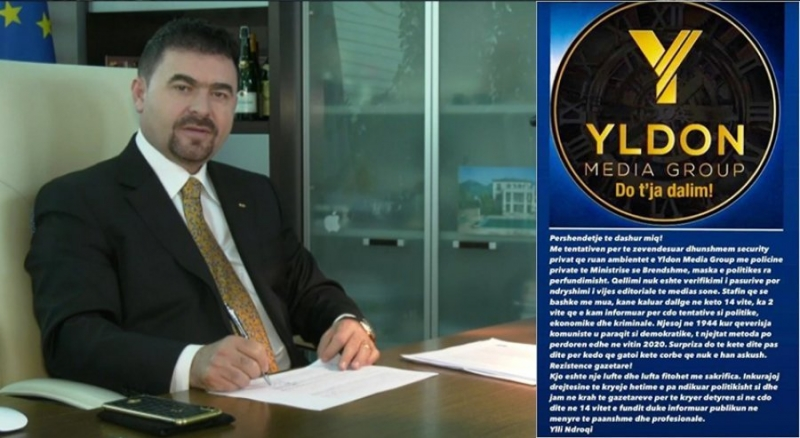 Ylli Ndroqi: 'Ilirian Guard' rrëzoi maskat, RTV Ora dhe Ora News do t'i rezistojnë sulmit politik