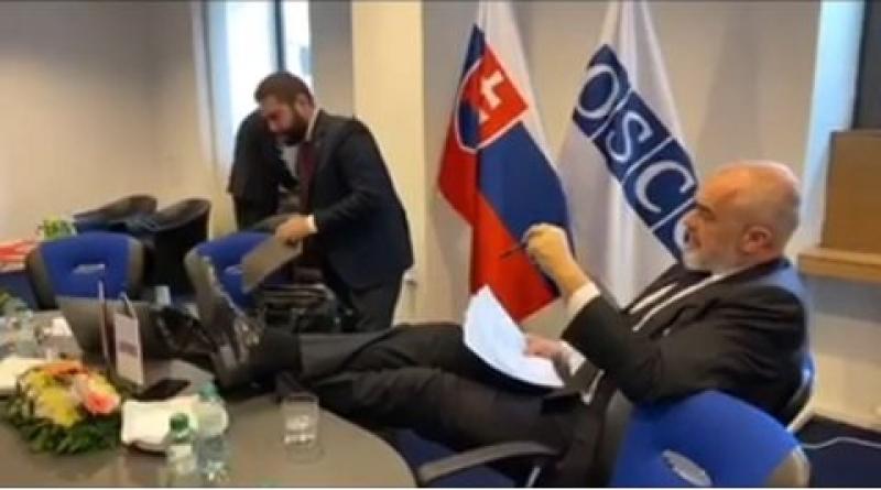 Shqipëria merr Presidencën e OSBE-së me Edi Ramën këmbëpërpjetë