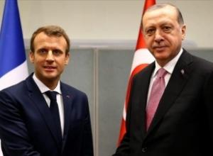 Presidenti turk dhe ai francez diskutojnë tensionet mbi Mesdheun Lindor