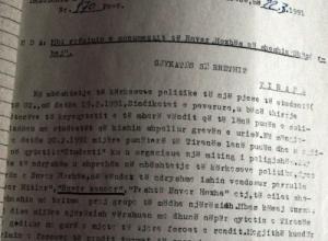 1991/Dënimi për ata që hodhën përmendoren e diktatorit