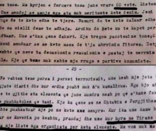 """1944/""""Terrorizmi zë një vend të madh tek ne"""""""