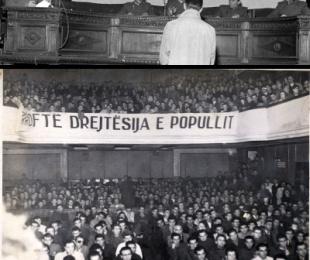 1946/Dënimi i inxhinierëve në procesin e Maliqit