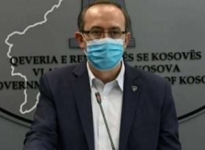 Shifrat e frikshmë të Covid-19 në Kosovë, Hoti paralajmëron krizën në spitale