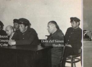1977/Fotot e procesit ndaj klerikëve në Shkodër