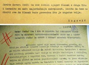 1947/Artikulli i zhdukur i Enver Hoxhës: Ç'ka bërë Titoja për LANÇ-in tonë