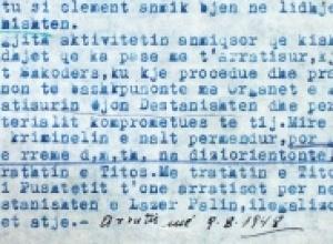 1958/Sigurimi as nuk e dinte ku jetonte Martin Camaj