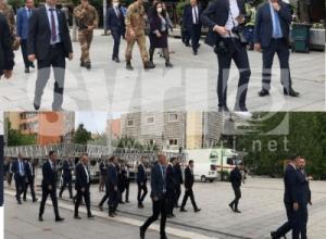 Kryeministri e kryeparlamentarja e LDK-së, të ndarë edhe në Festën e Çlirimit