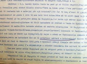 """1942/""""Çeta e Pezës me fshatarë, dezertorë e kriminelë"""""""