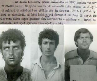 2 korrik 1990 i ambasadave, 6 plagosur dhe 76 të ndaluar