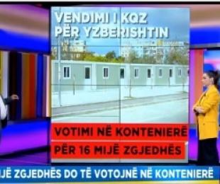 Mbi 16 mijë persona do të votojnë në kontejnerë, Billa: Nuk i përmbushin kriteret