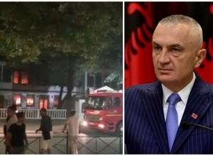 """Shkrumbimi i Sarajeve/ Presidenti Meta: Akt kriminal që i hap udhën kullave, """"lavatriçeve të pastrimit të parave"""" në Tiranë. Të hetojë SPAK!"""