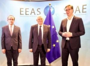 Përfundoi takimi Kosovë – Serbi në Bruksel/ Hoti: Kemi bërë progres