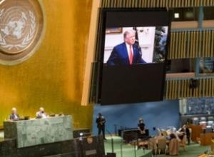 """""""Bota u godit nga një murtajë"""",Trump në fjalimin e mbajtur në OKB: Kina duhet të mbajë përgjegjësi për koronavirusin"""
